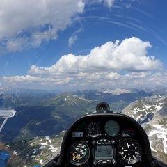 Verortung via Georeferenzierung der Kamera: Aufgenommen in der Nähe von Gemeinde Flachau, Österreich in 2600 Meter