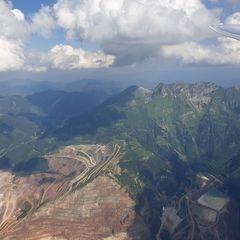 Verortung via Georeferenzierung der Kamera: Aufgenommen in der Nähe von Eisenerz, Österreich in 2600 Meter