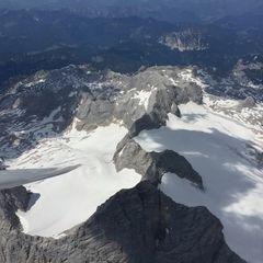 Verortung via Georeferenzierung der Kamera: Aufgenommen in der Nähe von Gemeinde Ramsau am Dachstein, 8972, Österreich in 3700 Meter
