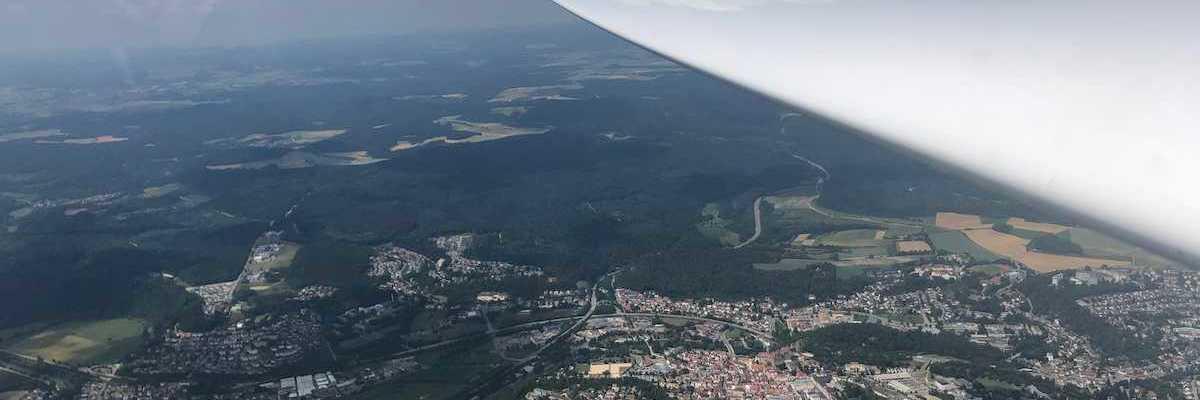 Verortung via Georeferenzierung der Kamera: Aufgenommen in der Nähe von Sigmaringen, Deutschland in 1700 Meter