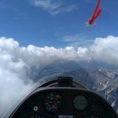 Flugwegposition um 11:22:20: Aufgenommen in der Nähe von Innsbruck, Österreich in 2943 Meter