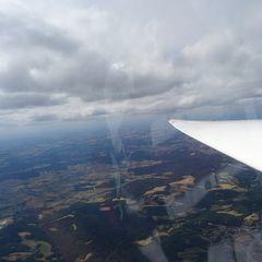 Flugwegposition um 15:02:17: Aufgenommen in der Nähe von Bayreuth, Deutschland in 2091 Meter