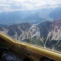 Verortung via Georeferenzierung der Kamera: Aufgenommen in der Nähe von Gemeinde Zirl, Zirl, Österreich in 2900 Meter