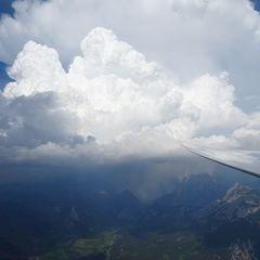 Flugwegposition um 15:08:29: Aufgenommen in der Nähe von Admont, Österreich in 2746 Meter