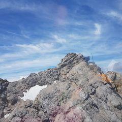 Verortung via Georeferenzierung der Kamera: Aufgenommen in der Nähe von Garmisch-Partenkirchen, Deutschland in 2900 Meter