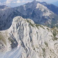Verortung via Georeferenzierung der Kamera: Aufgenommen in der Nähe von Gemeinde Absam, Absam, Österreich in 2300 Meter