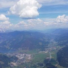 Flugwegposition um 12:39:22: Aufgenommen in der Nähe von Gemeinde Piesendorf, 5721 Piesendorf, Österreich in 2279 Meter