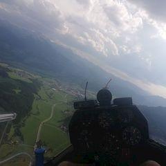 Flugwegposition um 15:40:36: Aufgenommen in der Nähe von Mitterberg-Sankt Martin, Österreich in 1317 Meter