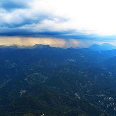 Flugwegposition um 15:24:13: Aufgenommen in der Nähe von Gemeinde Wildalpen, 8924, Österreich in 2037 Meter