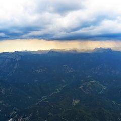 Flugwegposition um 15:24:24: Aufgenommen in der Nähe von Gemeinde Wildalpen, 8924, Österreich in 2013 Meter