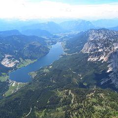 Flugwegposition um 11:28:48: Aufgenommen in der Nähe von Gemeinde Grundlsee, 8993, Österreich in 2641 Meter