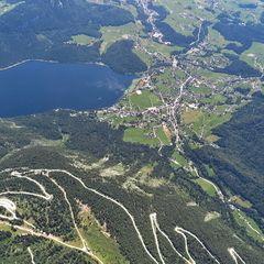 Flugwegposition um 11:39:29: Aufgenommen in der Nähe von Gemeinde Altaussee, Österreich in 2379 Meter