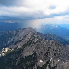Flugwegposition um 14:49:13: Aufgenommen in der Nähe von Gemeinde Rosenau am Hengstpaß, Österreich in 2259 Meter