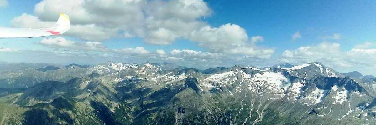 Flugwegposition um 13:35:40: Aufgenommen in der Nähe von Gemeinde Bad Gastein, Bad Gastein, Österreich in 2772 Meter