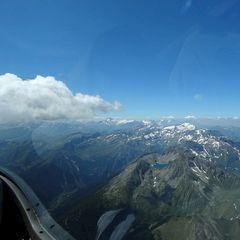 Flugwegposition um 13:08:14: Aufgenommen in der Nähe von Gemeinde Malta, Österreich in 3053 Meter