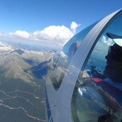 Flugwegposition um 13:10:13: Aufgenommen in der Nähe von Gemeinde Malta, Österreich in 2852 Meter