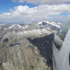 Flugwegposition um 13:15:31: Aufgenommen in der Nähe von Gemeinde Malta, Österreich in 2882 Meter
