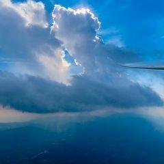 Flugwegposition um 15:15:16: Aufgenommen in der Nähe von Gemeinde Wenigzell, Wenigzell, Österreich in 2221 Meter