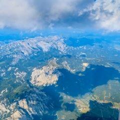 Flugwegposition um 14:18:10: Aufgenommen in der Nähe von Gemeinde Vordernberg, 8794, Österreich in 3305 Meter