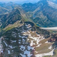 Flugwegposition um 11:35:47: Aufgenommen in der Nähe von Kleinsölk, 8961, Österreich in 2958 Meter