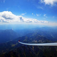 Flugwegposition um 13:15:49: Aufgenommen in der Nähe von Gai, 8793, Österreich in 3121 Meter