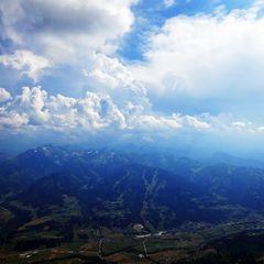 Flugwegposition um 14:03:46: Aufgenommen in der Nähe von Gemeinde Ramsau am Dachstein, 8972, Österreich in 2255 Meter