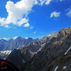 Flugwegposition um 14:08:43: Aufgenommen in der Nähe von Gemeinde Ramsau am Dachstein, 8972, Österreich in 2651 Meter