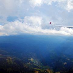 Flugwegposition um 14:56:12: Aufgenommen in der Nähe von Gemeinde Wald am Schoberpaß, 8781, Österreich in 3333 Meter