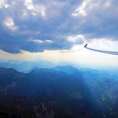 Flugwegposition um 16:14:22: Aufgenommen in der Nähe von Tragöß-Sankt Katharein, Österreich in 2543 Meter