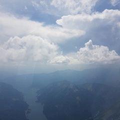 Flugwegposition um 11:52:37: Aufgenommen in der Nähe von Gemeinde Achenkirch, 6215, Österreich in 2897 Meter