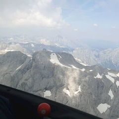 Flugwegposition um 10:50:47: Aufgenommen in der Nähe von Gemeinde Mühlbach am Hochkönig, 5505 Mühlbach am Hochkönig, Österreich in 2900 Meter