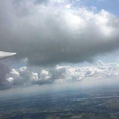 Flugwegposition um 11:59:04: Aufgenommen in der Nähe von Gemeinde Herzogsdorf, Österreich in 1427 Meter