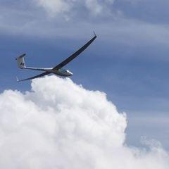 Flugwegposition um 13:08:31: Aufgenommen in der Nähe von Okres Jihlava, Tschechien in 1951 Meter