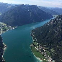 Verortung via Georeferenzierung der Kamera: Aufgenommen in der Nähe von Gemeinde Eben am Achensee, Österreich in 2200 Meter