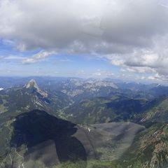 Flugwegposition um 12:40:28: Aufgenommen in der Nähe von Gemeinde Wald am Schoberpaß, 8781, Österreich in 2606 Meter