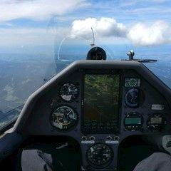 Flugwegposition um 12:49:19: Aufgenommen in der Nähe von Gemeinde Mitterbach am Erlaufsee, Österreich in 2680 Meter
