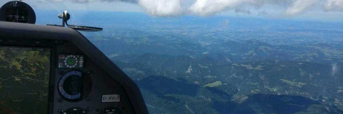 Flugwegposition um 12:49:09: Aufgenommen in der Nähe von Gemeinde Mitterbach am Erlaufsee, Österreich in 2691 Meter