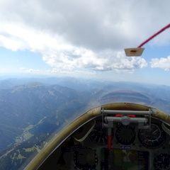 Flugwegposition um 12:16:47: Aufgenommen in der Nähe von Gemeinde Neuberg an der Mürz, 8692, Österreich in 2502 Meter