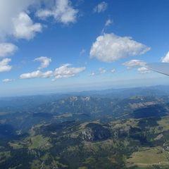 Flugwegposition um 12:16:53: Aufgenommen in der Nähe von Gemeinde Neuberg an der Mürz, 8692, Österreich in 2482 Meter