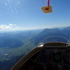 Flugwegposition um 14:29:52: Aufgenommen in der Nähe von Gemeinde Maria Alm am Steinernen Meer, 5761, Österreich in 2841 Meter