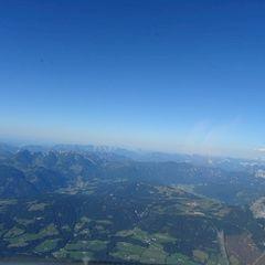 Flugwegposition um 15:26:46: Aufgenommen in der Nähe von Gemeinde Annaberg-Lungötz, Österreich in 2765 Meter