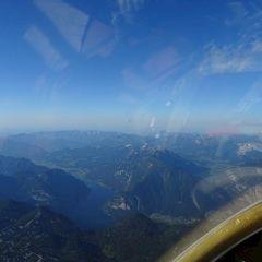 Flugwegposition um 15:48:10: Aufgenommen in der Nähe von Gemeinde Obertraun, Obertraun, Österreich in 3217 Meter