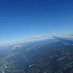 Flugwegposition um 15:52:22: Aufgenommen in der Nähe von Gemeinde Bad Aussee, 8990 Bad Aussee, Österreich in 2951 Meter