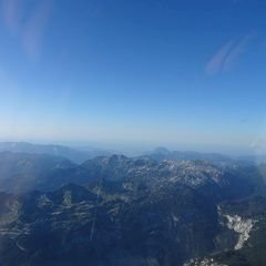 Flugwegposition um 15:55:15: Aufgenommen in der Nähe von Gemeinde Grundlsee, 8993, Österreich in 2763 Meter