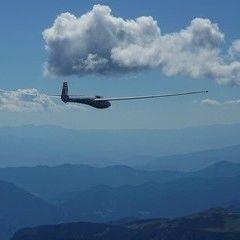 Flugwegposition um 12:31:19: Aufgenommen in der Nähe von Gemeinde Turnau, Österreich in 2319 Meter