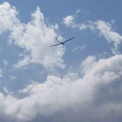 Flugwegposition um 12:36:55: Aufgenommen in der Nähe von 06059 Todi, Perugia, Italien in 1706 Meter