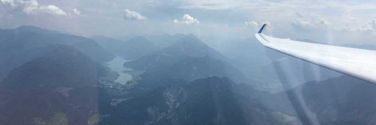 Flugwegposition um 10:36:47: Aufgenommen in der Nähe von Gemeinde Greifenburg, Greifenburg, Österreich in 2125 Meter