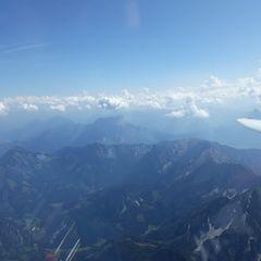 Flugwegposition um 11:19:42: Aufgenommen in der Nähe von Gemeinde Rosenau am Hengstpaß, Österreich in 3131 Meter