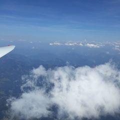 Flugwegposition um 11:21:12: Aufgenommen in der Nähe von Gemeinde Rosenau am Hengstpaß, Österreich in 3271 Meter