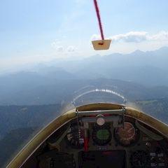 Flugwegposition um 09:38:11: Aufgenommen in der Nähe von Gemeinde Roßleithen, 4575, Österreich in 1904 Meter